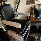Barber Chair at Jay's by Barbara Wyeth