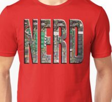 NERD Computer Motherboard Letters Unisex T-Shirt