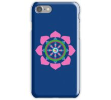 Dharma wheel iPhone Case/Skin