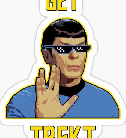 Get Trekt Sticker