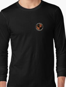 Star Wars Episode VII - Black Squadron (Resistance) - Off-Duty Insignia Series Long Sleeve T-Shirt