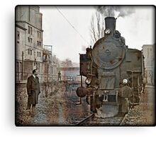 steam locomotive 93.1446  Canvas Print