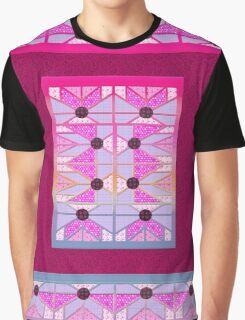 Cute and cool style desing love patchwork Graphic T-Shirt