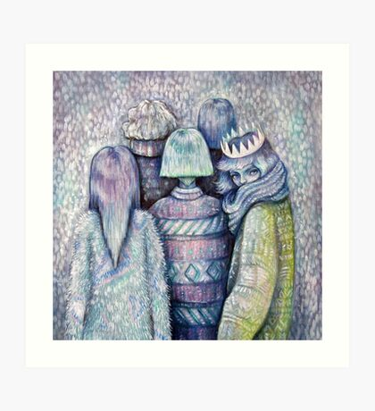 Sweater Club Art Print