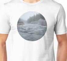 Winter On The Deschutes River Unisex T-Shirt