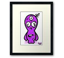 Dumb Alien Framed Print