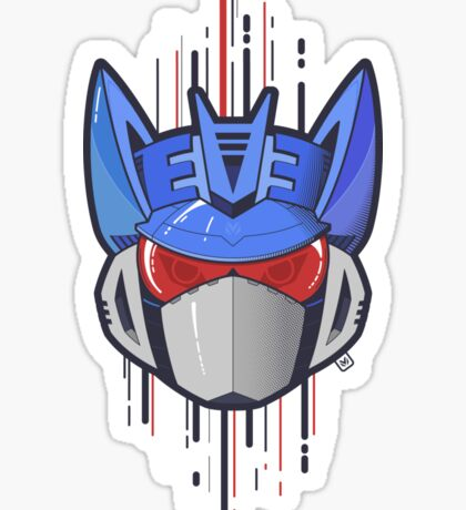 Decepticon Logo / Soundwave Sticker