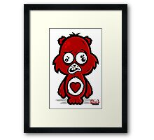 Dumb Carebear Framed Print