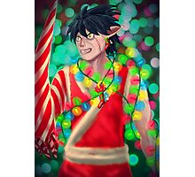 Christmas Elf. Photographic Print