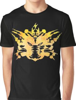 Pikachu Rorschach test Graphic T-Shirt