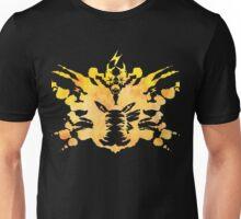 Pikachu Rorschach test Unisex T-Shirt
