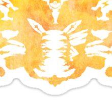 Pikachu Rorschach test Sticker