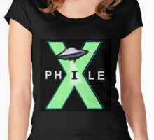 X-Files X-Phile Women's Fitted Scoop T-Shirt