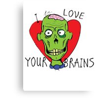 the loveful dead Canvas Print