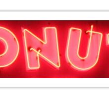 Neon Sign - Donuts Sticker