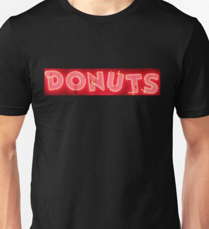 Neon Sign - Donuts Unisex T-Shirt