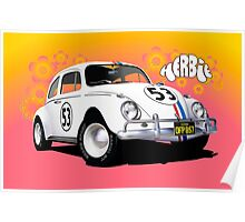 Herbie The Love Bug Poster