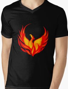 phoenix Mens V-Neck T-Shirt