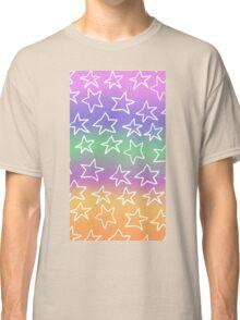 starry pastel sky Classic T-Shirt