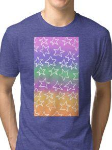 starry pastel sky Tri-blend T-Shirt