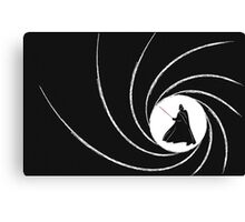 007 Vader Canvas Print
