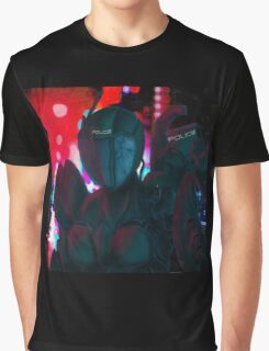 Sci-Fi Police. Graphic T-Shirt