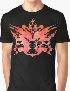 Pikachu Rorschach Test (Red) Graphic T-Shirt