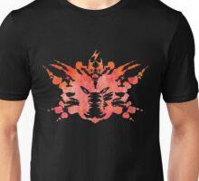 Pikachu Rorschach Test (Red) Unisex T-Shirt