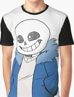 Undertale Sans! Vector Graphic T-Shirt