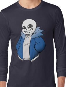 Undertale Sans! Vector Long Sleeve T-Shirt
