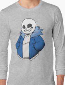Undertale Sans! Vector Long Sleeve T-Shirt