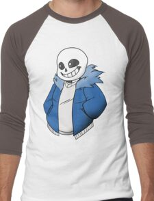 Undertale Sans! Vector Men's Baseball ¾ T-Shirt