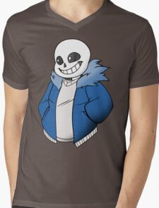 Undertale Sans! Vector Mens V-Neck T-Shirt