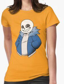 Undertale Sans! Vector Womens Fitted T-Shirt