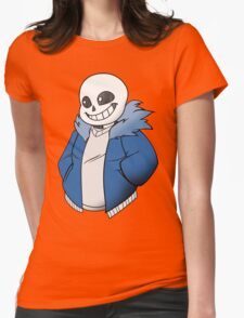 Undertale Sans! Vector Womens Fitted T-Shirt