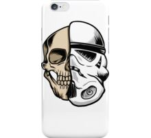Star Wars Stormtrooper Skull Art iPhone Case/Skin