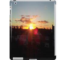 Suburb Sunset iPad Case/Skin