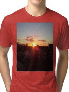Suburb Sunset Tri-blend T-Shirt