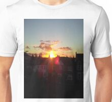 Suburb Sunset Unisex T-Shirt