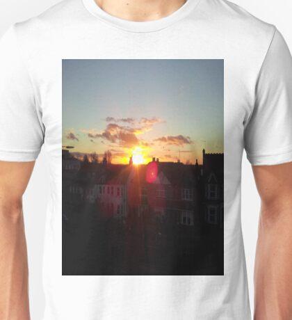 Suburb Sunset Unisex T-Shirt