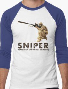 SNIPER  Men's Baseball ¾ T-Shirt