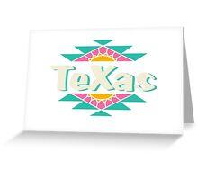 Tx tea Greeting Card