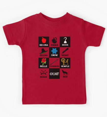 Once Upon A Time T-Shirt Kids Tee