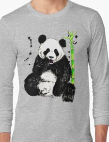 Bamboo For Lunch Long Sleeve T-Shirt