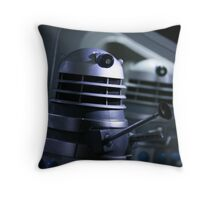 Dead Planet Daleks Throw Pillow
