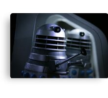 Dead Planet Daleks Canvas Print