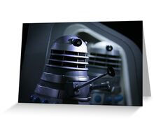 Dead Planet Daleks Greeting Card
