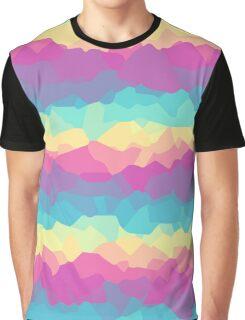 Bright rainbow Graphic T-Shirt
