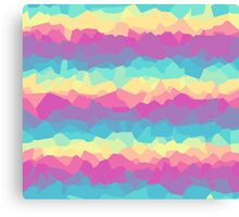 Bright rainbow Canvas Print