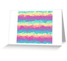 Bright rainbow Greeting Card